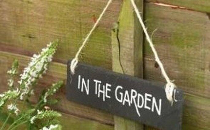 Un bel giardino o una terrazza nella vostra casa, ideali per la festa