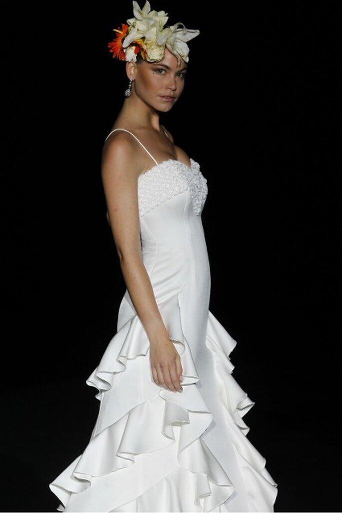 Vestido de novia Ana Torres 2012 de inspiración andaluza - Ugo Camera / Ifema