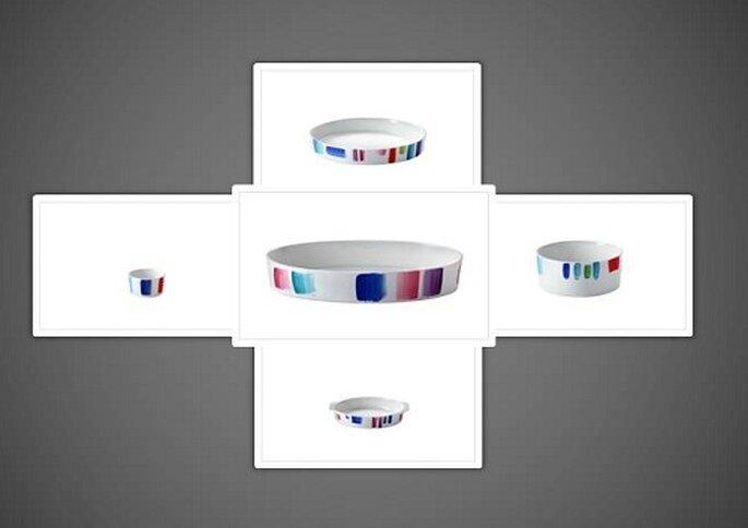 La linea di pirofile prova prima, colorate ma sempre raffinate. Foto: products.richardginori1735.com