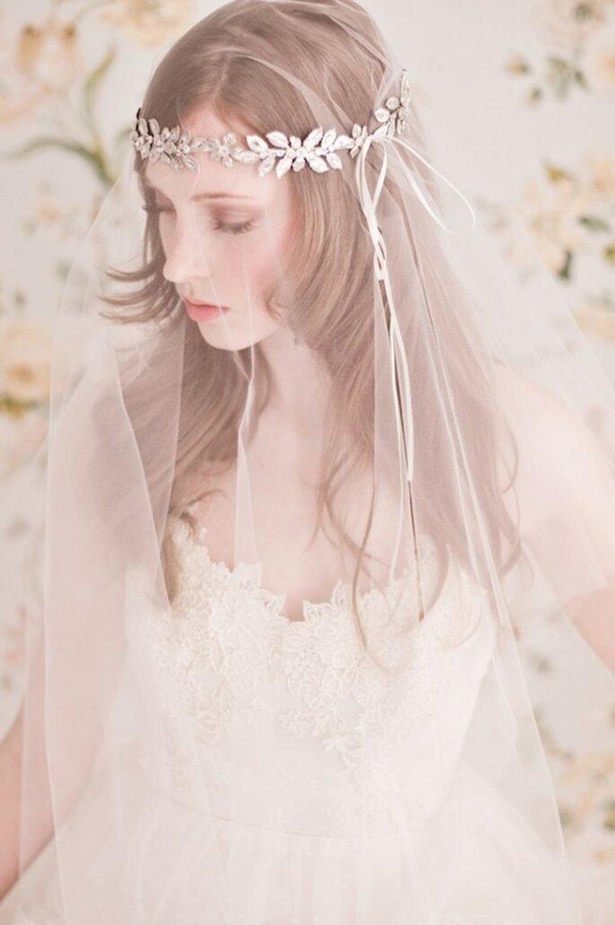 La belleza y elegancia de las novias veladas - Foto Emme Wynn