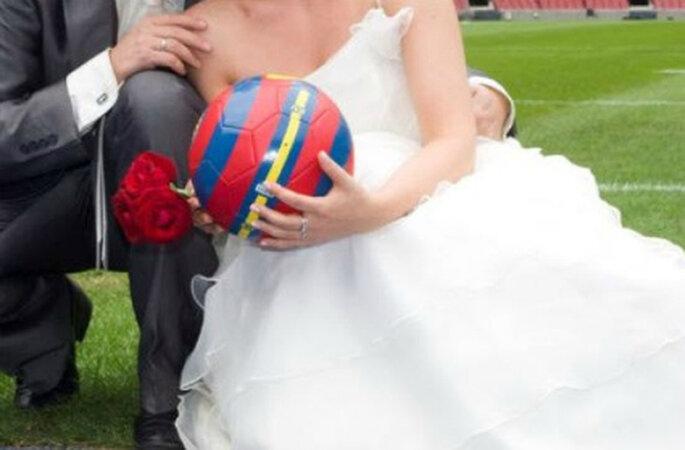 Cumple el sueño dorado de tu pareja dentro del Camp Nou. Foto: ww.fcbarcelona.com