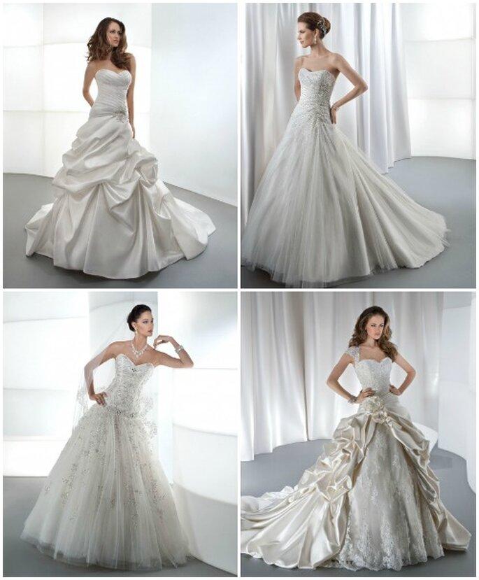 Collection de robes de mariée Demetrios 2013. Photo: www.demetriosbride.com