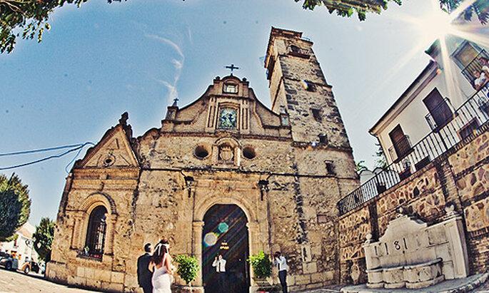 José y María se dieron el 'sí quiero en la parroquia Purísima Inmaculada Concepción
