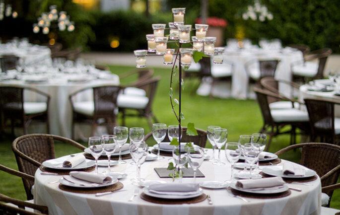 finca de bodas Madrid, decoración boda