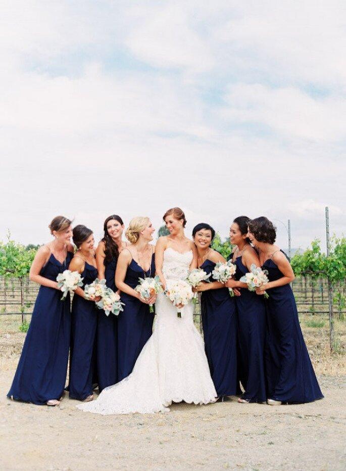 Inspiración para tu boda en coral y marino - Foto Tanja Lippert Photography