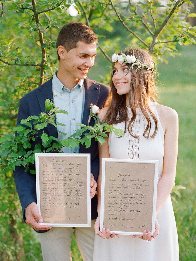 Haz votos personalizados en tu boda - Alina Valitova