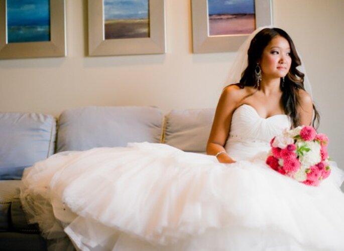 Toma en cuenta tu salud y tu forma de alimentación antes de la boda - Foto Jen Lynne