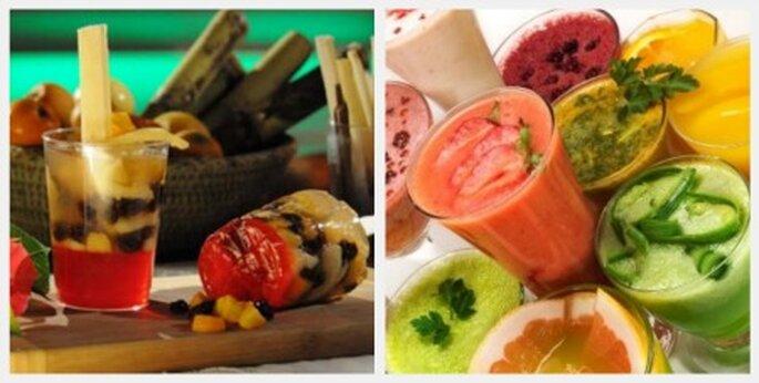 Frutas y gelatinas para refrescar a tus invitados
