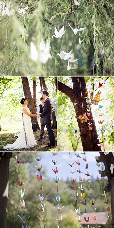 Decoraciones de papel para tu boda - Foto We Not Collective, Robert Sukrachand, Emily Takes Photos