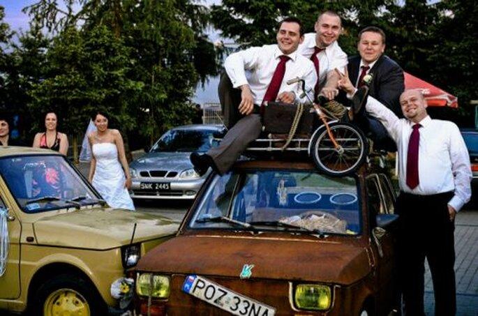 samochód na ślub