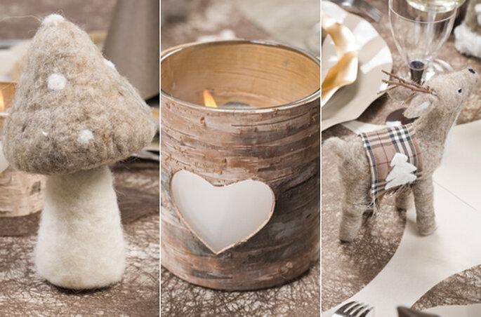 Personnalisez votre décoration de mariage hivernale ! - ©Zoé Confetti
