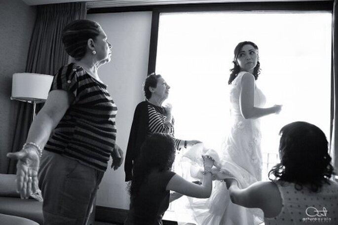 Haz que tu familia forme parte de todo el proceso de tu boda - Foto Arturo Ayala