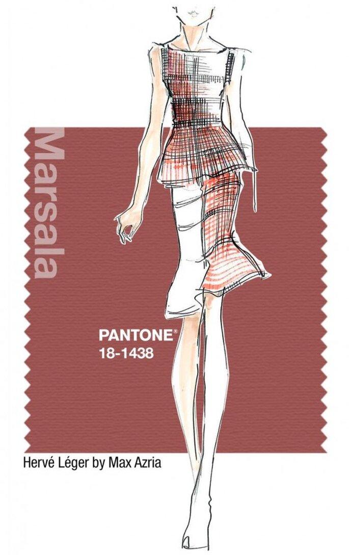 Marsala, el color del 2015 - Pantone oficial