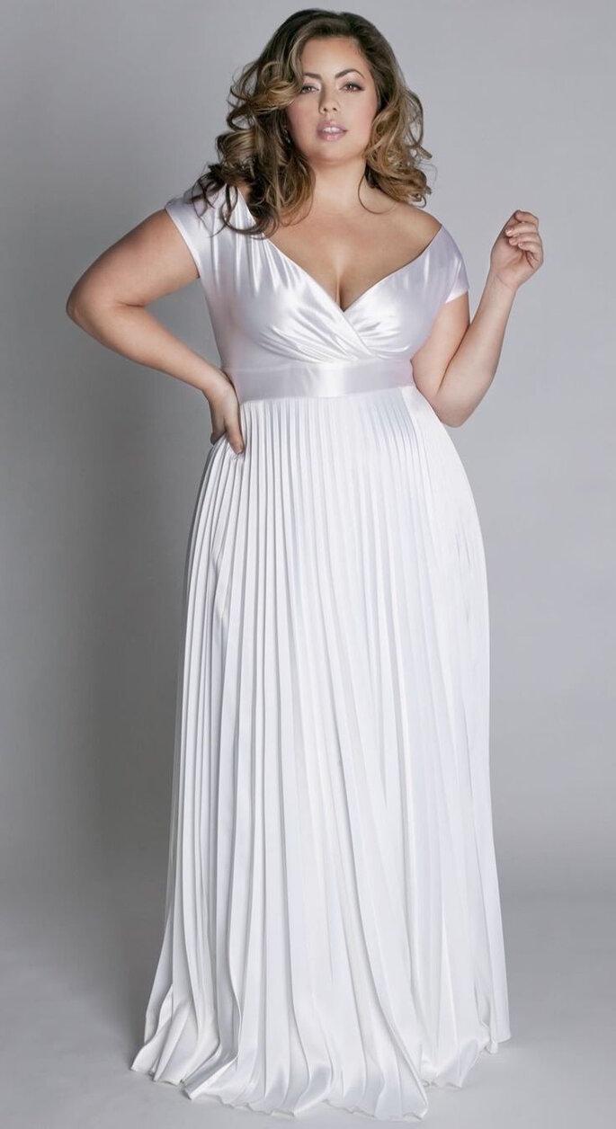 Vestidos de novia para chicas de talla grande - Unix Wedding