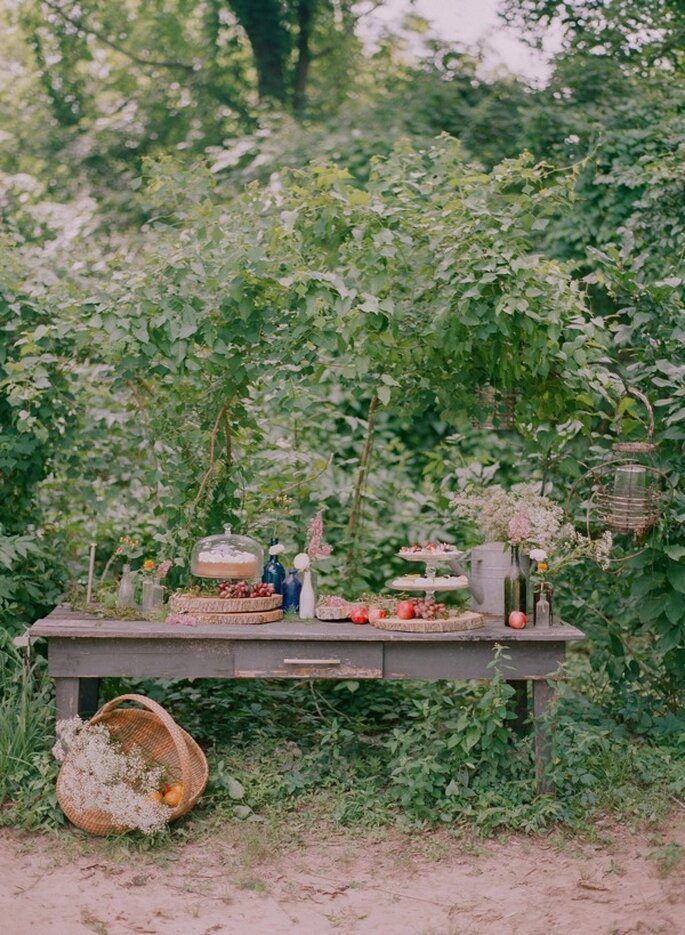 Una boda con detalles country - Foto Catherine Guidry