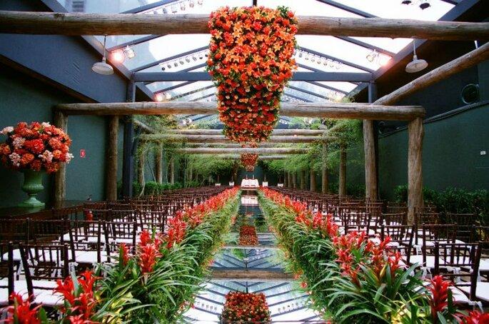 Os lugares mais bacanas para casar em São Paulo. Foto: Espaço Gardens