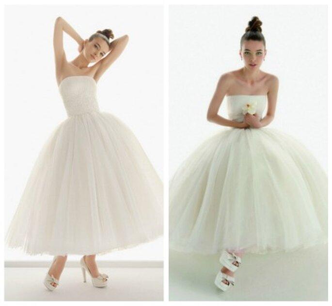 Vestidos de novia de bailarina- Foto: Aire