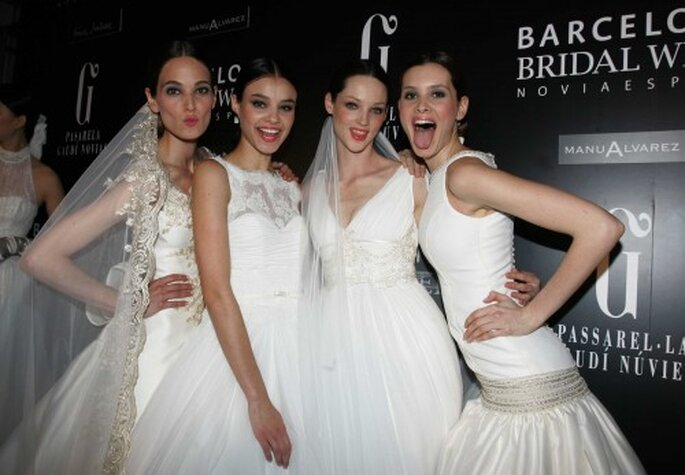 Desfile: Franc Sarabia. Foto: Barcelona Bridal Week