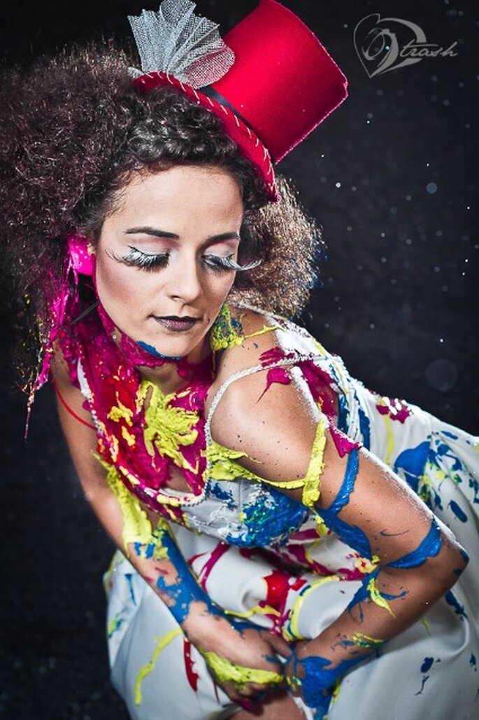 """Trash the dress"" Foto von love2trash.de"