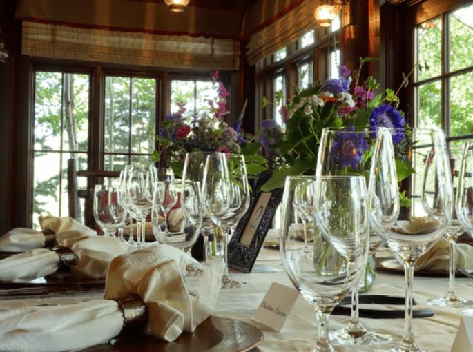 Restaurante rustico donde fue la boda de Kate Bosworth - Foto The Ranch at Rock Creek Facebook