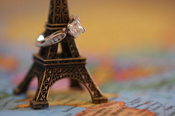 Romance en todo su esplendor desde una inspiración francesa. Foto: Jessie Hodge