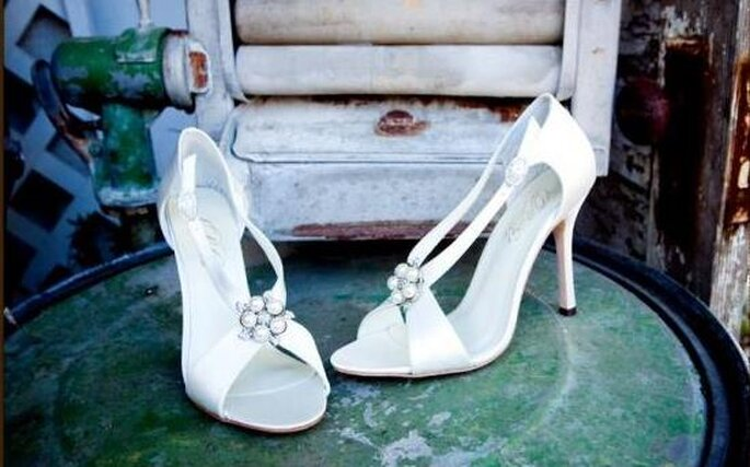 Sandali da sposa per l'estate