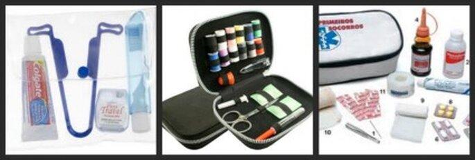 Kit d'hygiène, de couture et de premiers soins