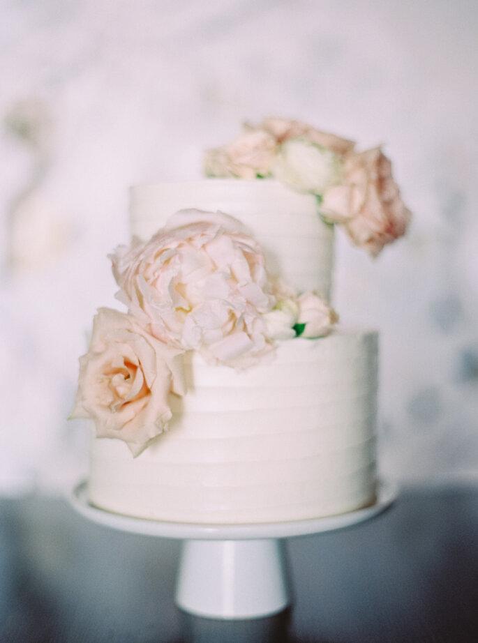 pastel con flores - Milton Photography