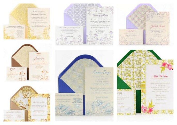 Azulsahara invitaciones, colección 2012 línea Chic & Trendy - Foto: Azul Sahara