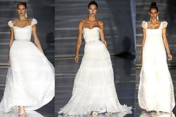 Vestidos de novia con corsé en su interior
