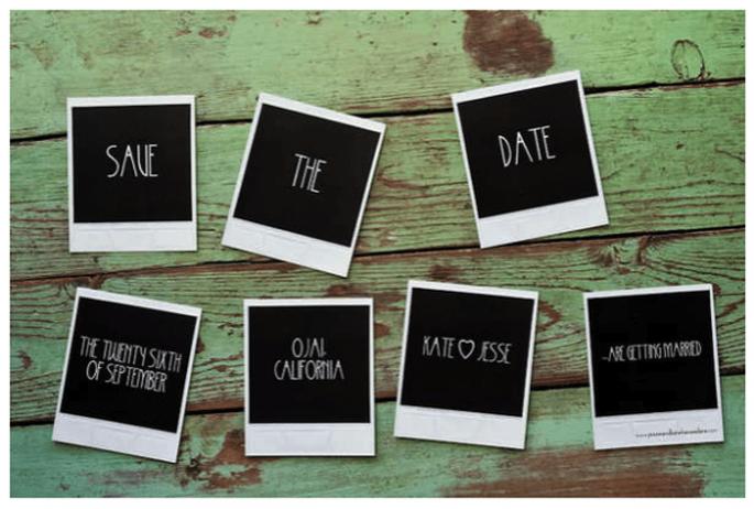 Los Save the Dates más originales para tu boda - Foto Amy & Stuart
