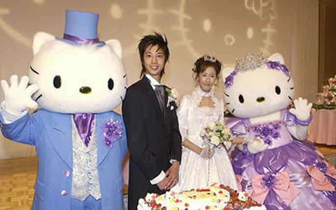 Colección de vestidos de novia Hello Kitty 2009