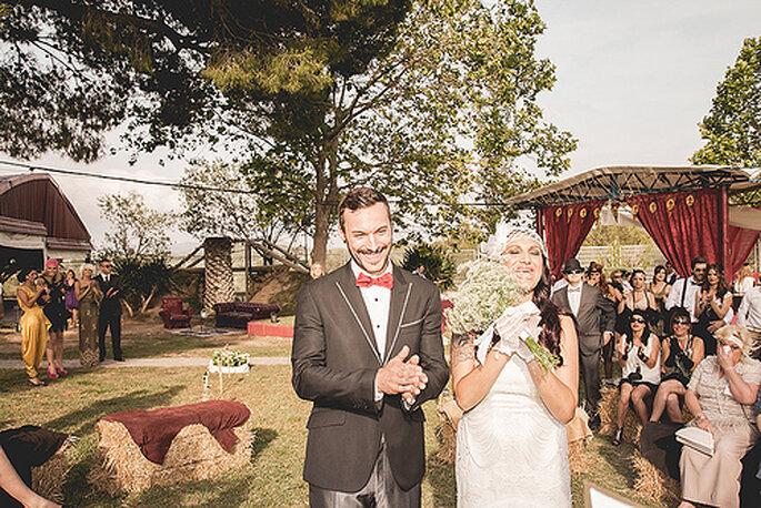Hochzeit im Vintage Stil - Trends 2014 - Foto: Sara Lobla.