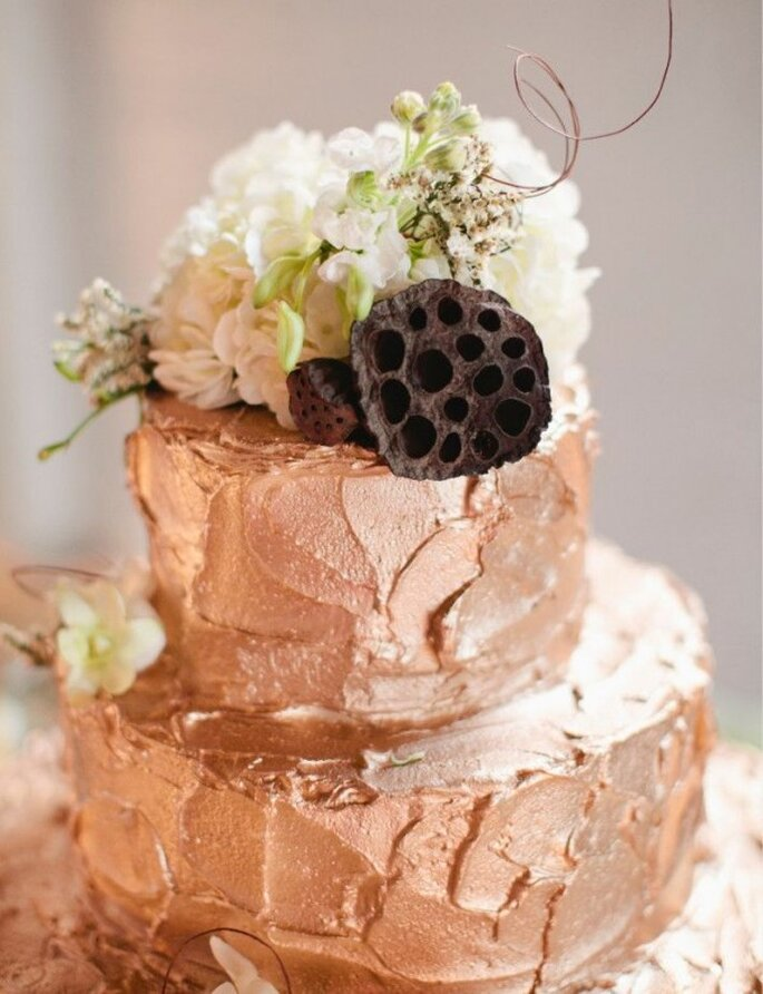 Rose gold pour les mariages 2014 - Photo Jillian Zamora