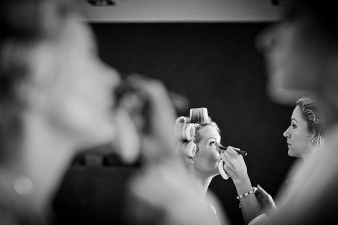 Getting Ready: Die Braut. - Foto: Benni Wolf.