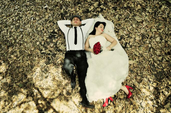 Sesión Trash the Dress de Angie y Rodrigo en Jalisco - Foto Casa Fragma