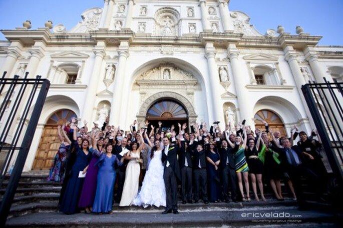 Cómo organizar las fotos de boda con la familia - Foto Eric Velado