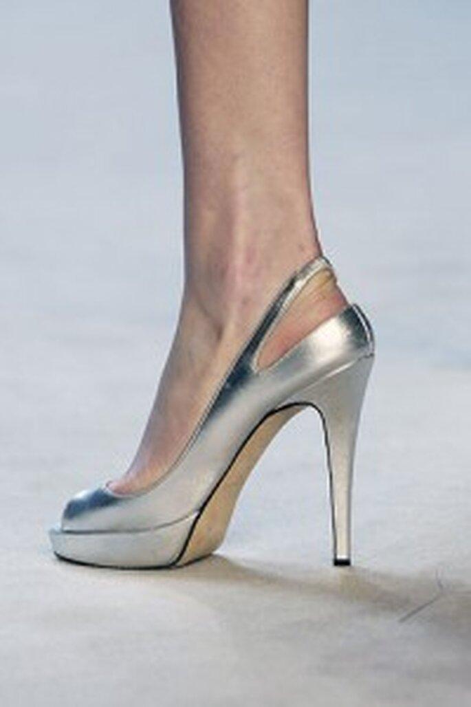 Chanel color argento di Zac Posen