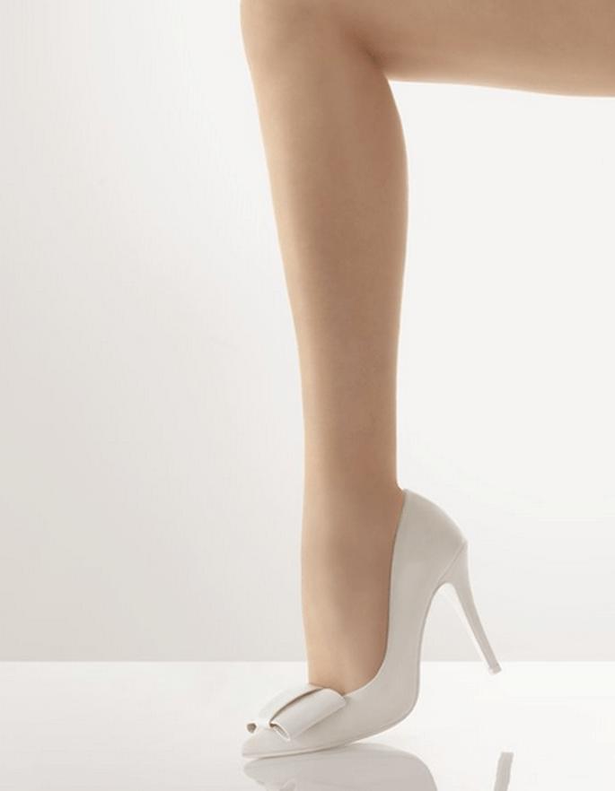 Rosa Clará zapatos de novia 2012