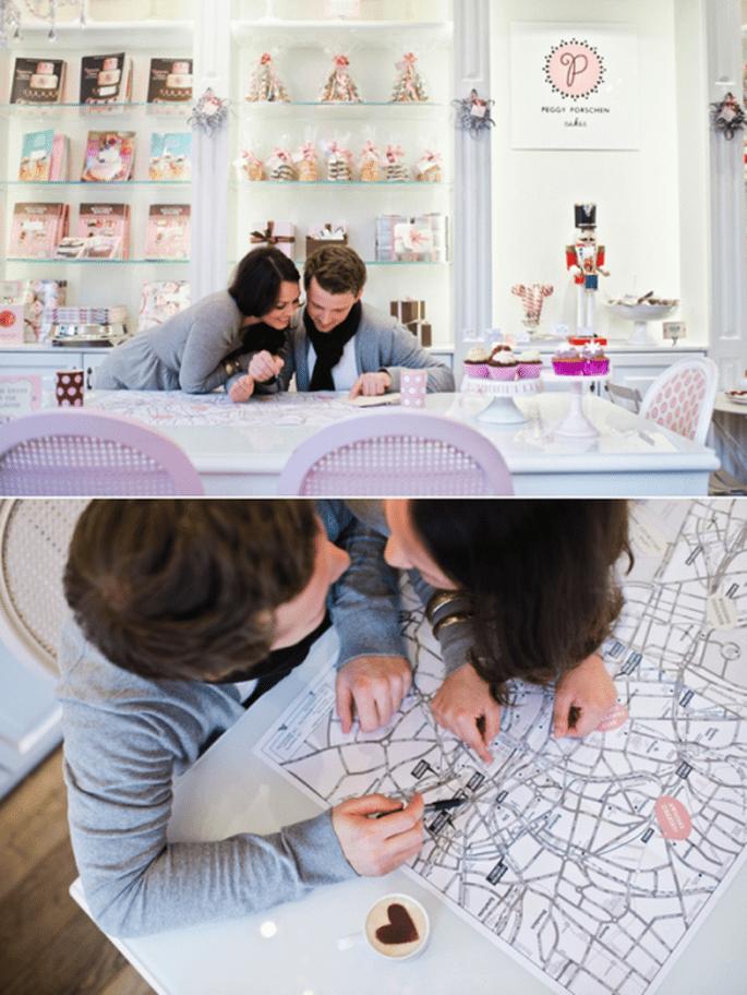 Romántica y divertida e-session de Verena y Matthias en Londres - Foto Nadia Meli
