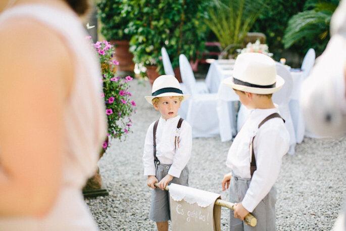 5 consejos de estilo para los pajecitos en el día de la boda. Foto- Carmen and Ingo Photography