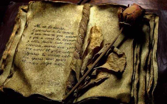 Scegliete una poesia d'amore e recitatela prima dello scambio degli anelli