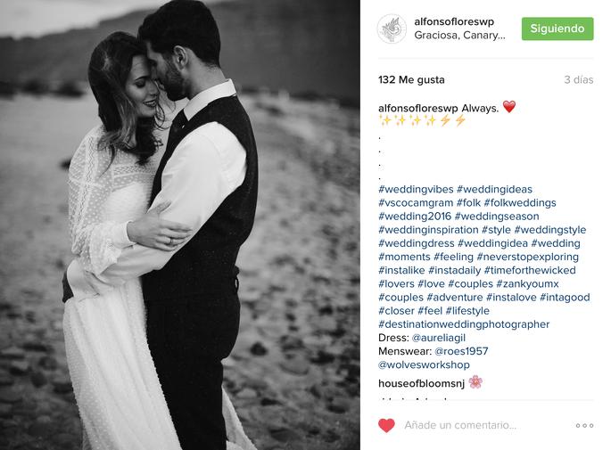 Foto: Instagram Alfonso Flores
