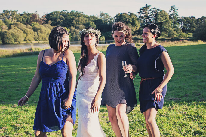 Photo : Ernestine et sa famille