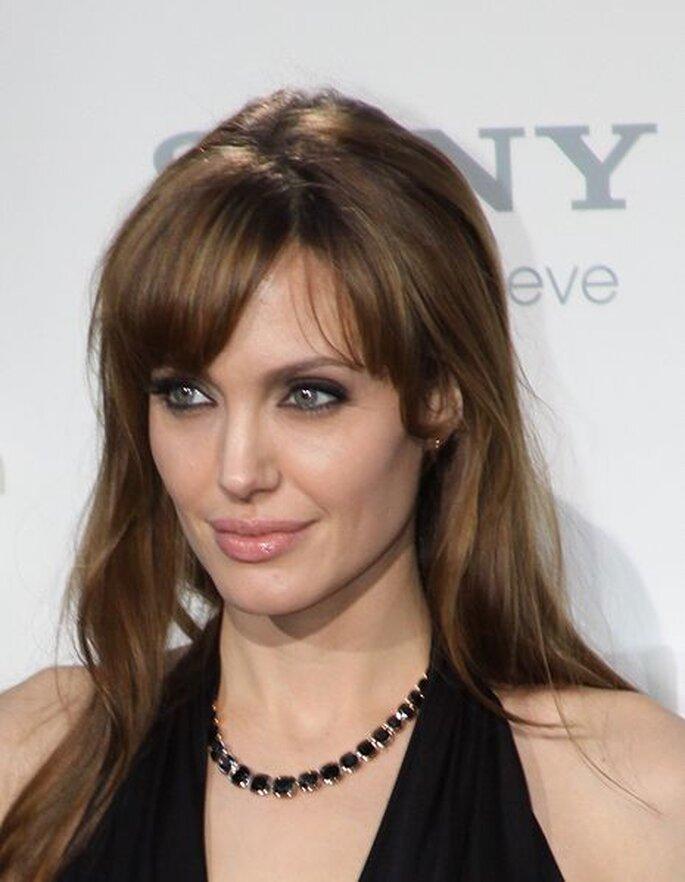Angelina Jolie comprometida con Brad Pitt - Foto www.promiflash.de . Wikimedia Commons