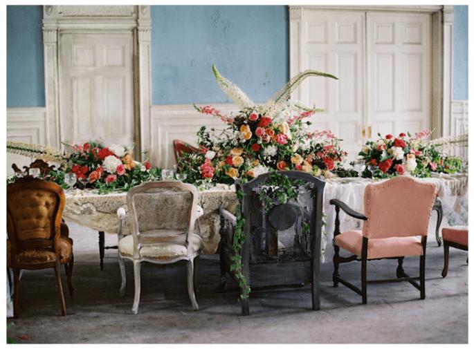 Envuelve tu boda en la magia de un jardín de flores - Foto Anne Robert Photography