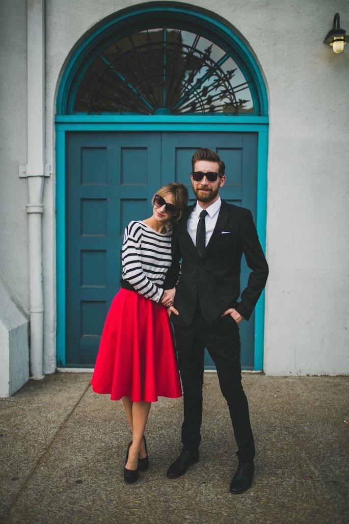 20 formas para mantenerte creativa durante la planeación de tu boda - Megan and Crent With Studio Castillero