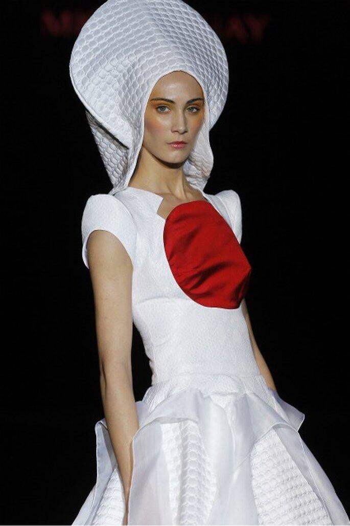 Los vestidos de novia Miquel Suay 2012 son un homenaje a Japón - Ugo Camera / Ifema