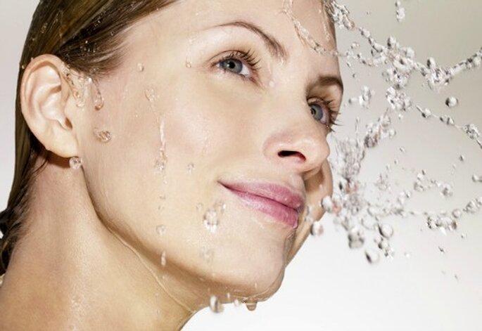 Make up da sposa effetto bagnato, il trend del momento! Foto: style.it
