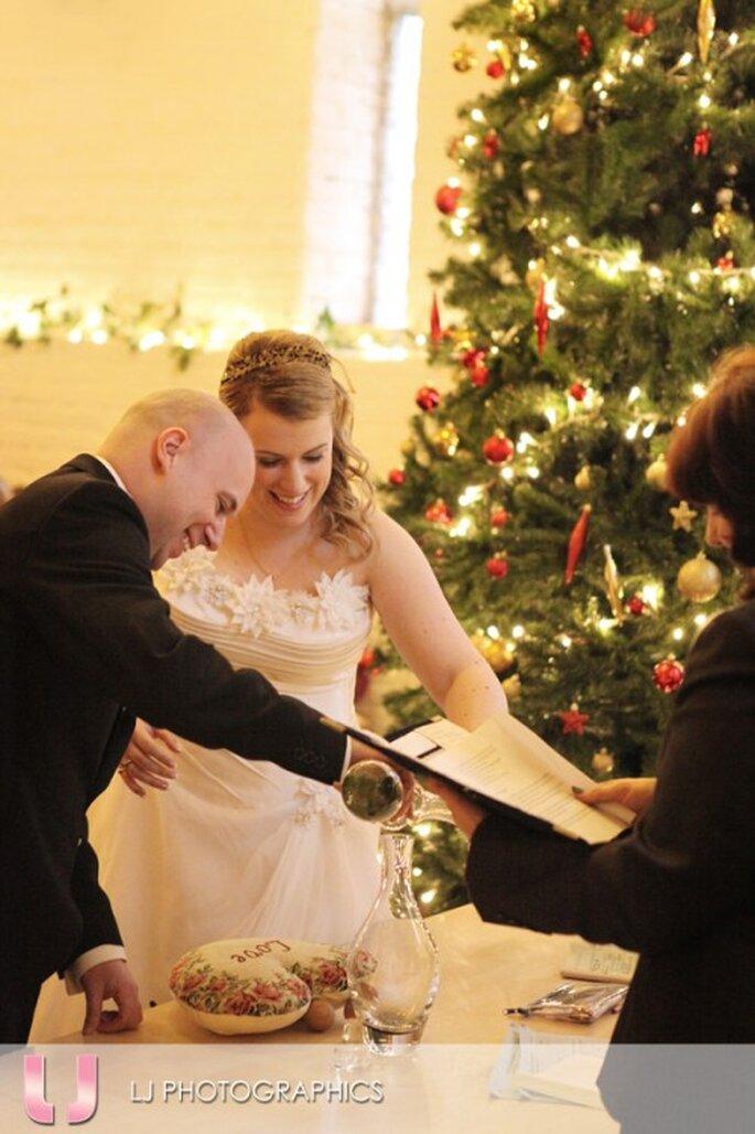 #MartesDeBodas: Todo lo que debes saber para tener una boda en Navidad - Foto LJ Photographics
